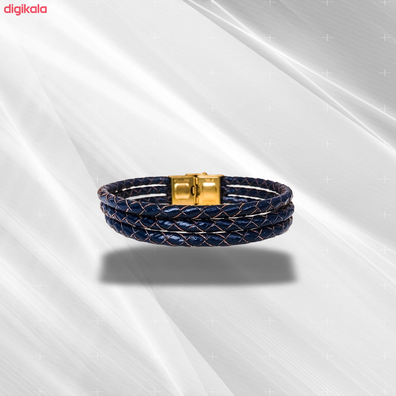 دستبند چرم وارک مدل دایان کد rb330 main 1 4