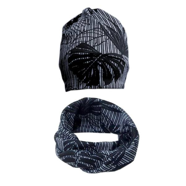 ست کلاه و شال گردن مدل هاوایی کد 2