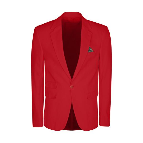 کت تک مردانه ان سی نو مدل جانسو رنگ قرمز