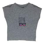 تی شرت آستین کوتاه دخترانه الایو مدل 5400