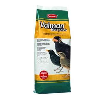 غذای مرغ مینا پادوان مدل valman black pellets وزن 1 کیلوگرم