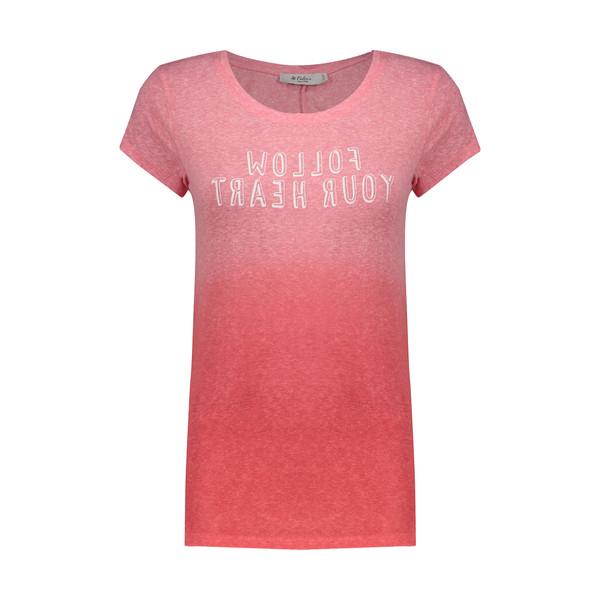 تی شرت زنانه کالینز مدل CL1031616-PINKMELANGE