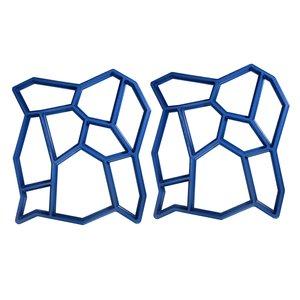 قالب سنگ فرش مدل pmr2 بسته دو عددي
