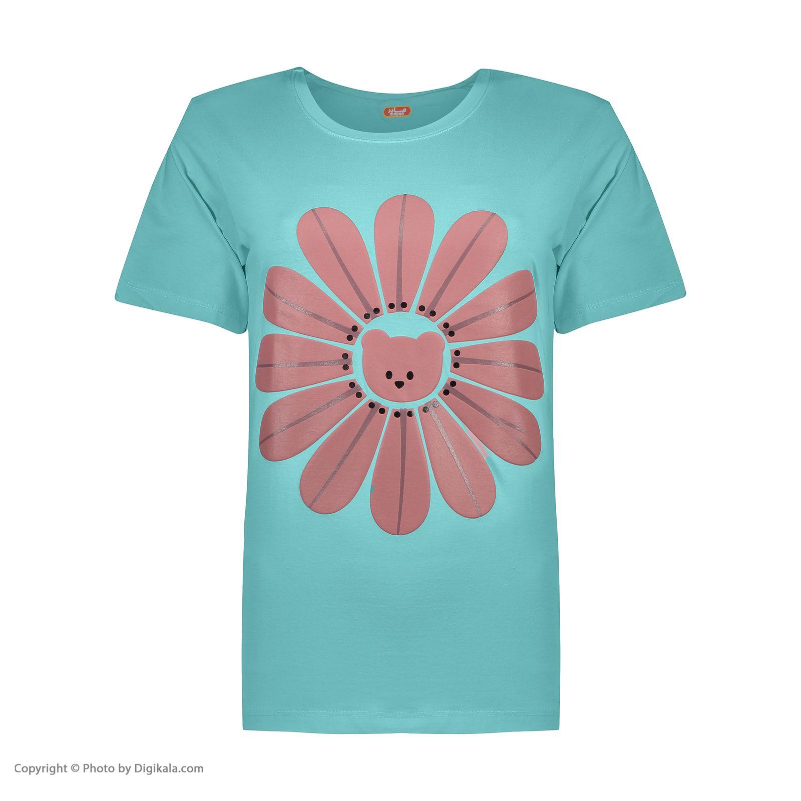 ست تی شرت و شلوارک راحتی زنانه مادر مدل 2041101-54 -  - 4