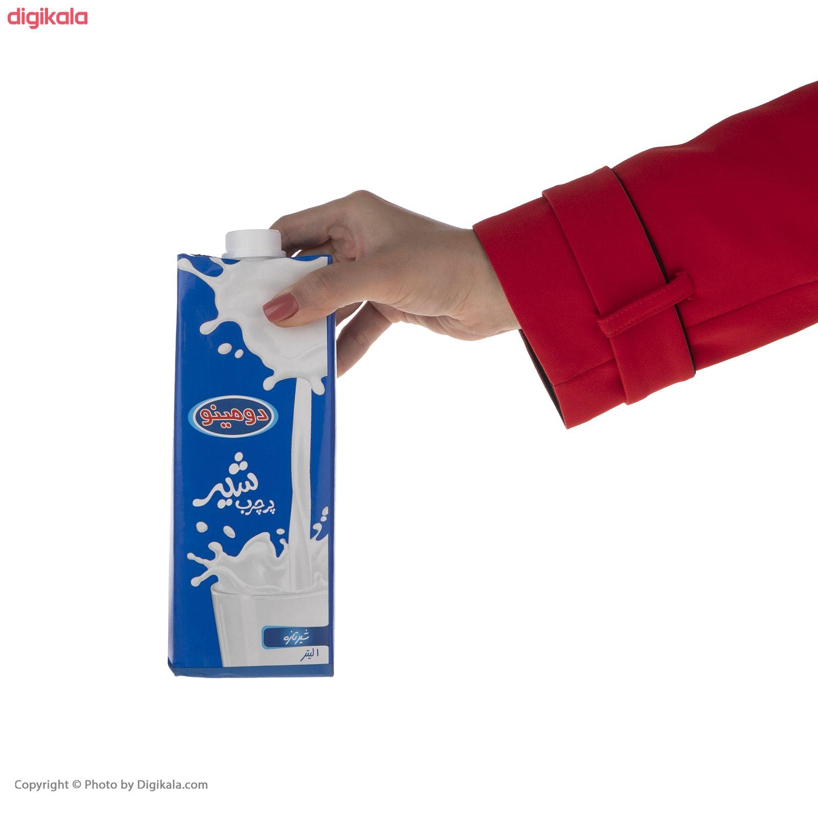 شیر پرچرب دومینو - 1 لیتر بسته 4 عددی main 1 4