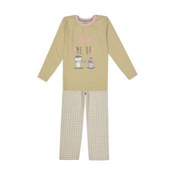 ست تی شرت و شلوار راحتی دخترانه ناربن مدل 1521260-07