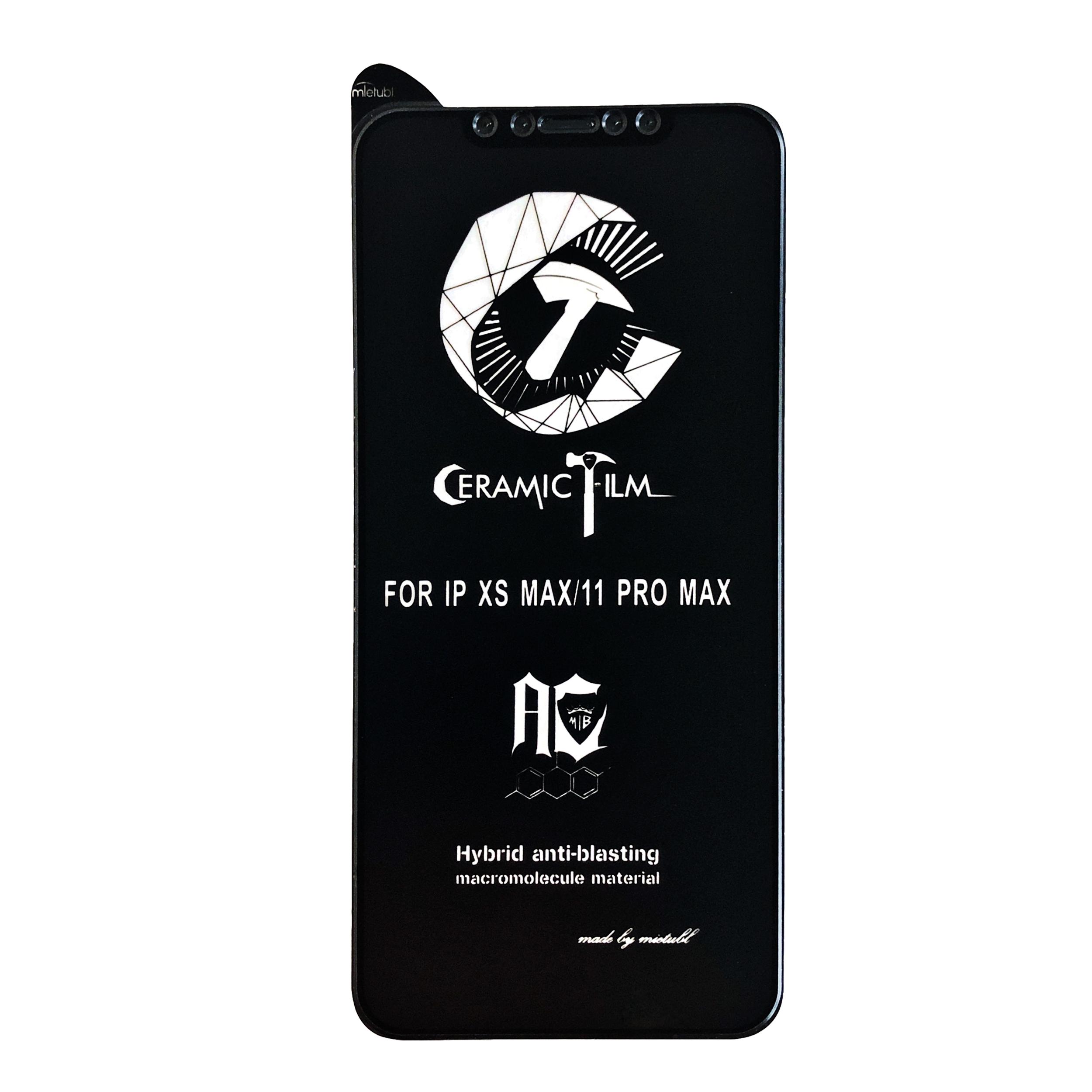 محافظ صفحه نمایش میتوبل مات مدل Pmma-01 مناسب برای گوشی موبایل اپل iphone XS Max/11Pro Max