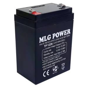 باتری یو پی اس 12 ولت 2.6 آمپر ساعت ام ال جی مدل TP1226