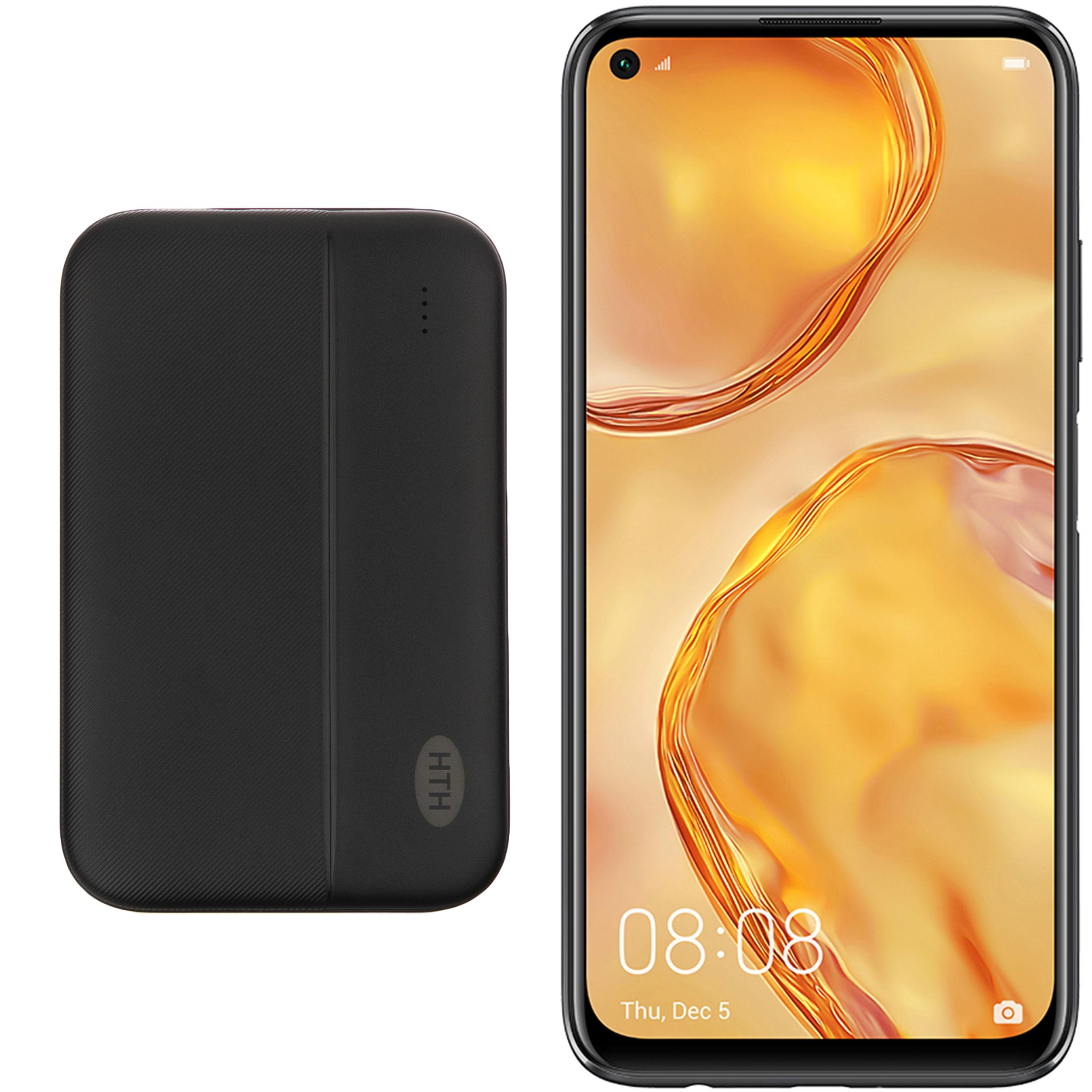 گوشی موبایل هوآوی مدل Nova 7i JNY-LX1 دو سیم کارت ظرفیت 128 گیگابایت و رم 8 گیگابایت به همراه شارژر همراه اچ تی اچ مدل H5000 ظرفیت باتری 5000 میلی آمپر ساعت