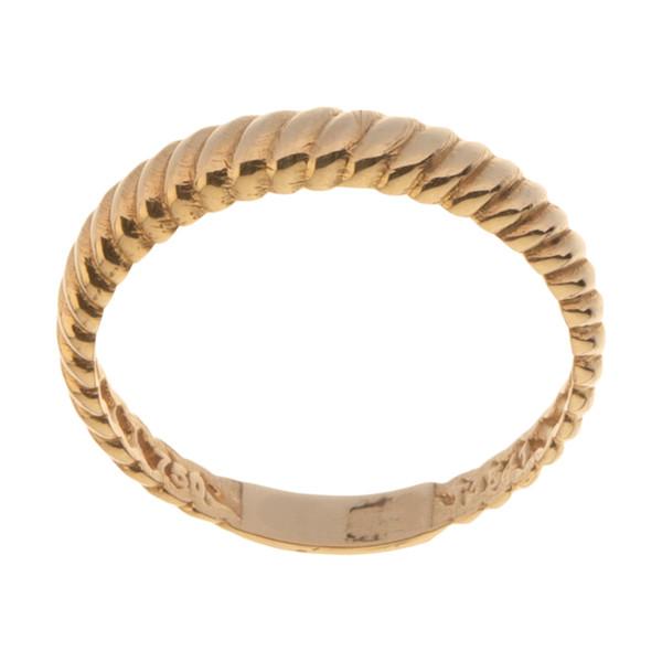 انگشتر طلا 18 عیار زنانه میو گلد مدل G1190-56