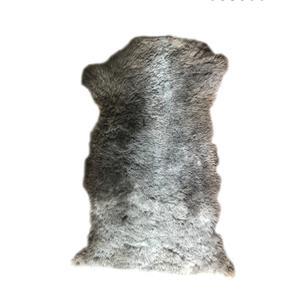 فرش پوست انارکارپت مدل خز طبیعی گوسفند کد GN 112