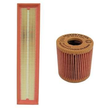 فیلتر هوا خودرو سرکان مدل SF1223 به همراه فیلتر روغن سرکان