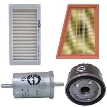 فیلتر هوا خودرو سرکان مدل SF1254 مناسب برای تندر90 به همراه فیلتر روغن و فیلتر کابین و فیلتر بنزین