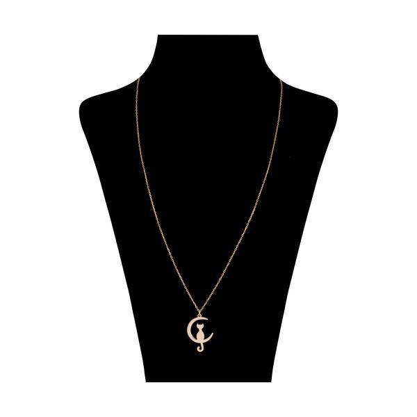 گردنبند طلا 18 عیار زنانه نیوانی مدل N1024