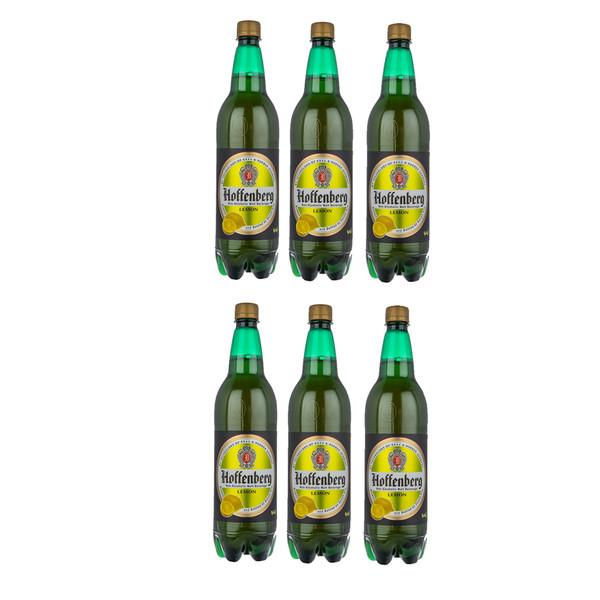 ماءالشعیر گازدار هوفنبرگ طعم لیمو - 1 لیتر بسته 6 عددی