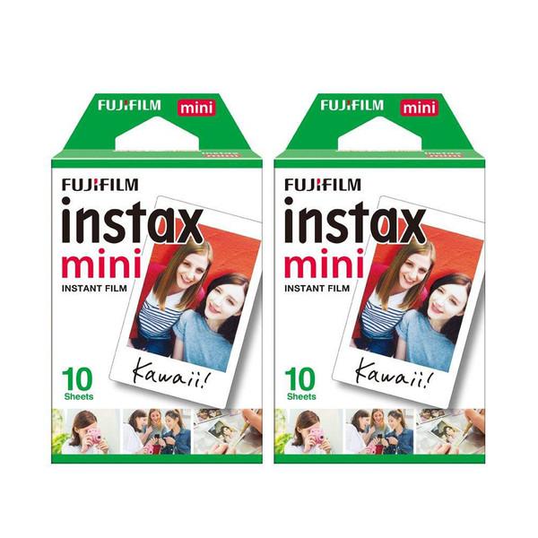 فیلم مخصوص فوجی فیلم مدل Instax Mini مجموعه 2 عددی