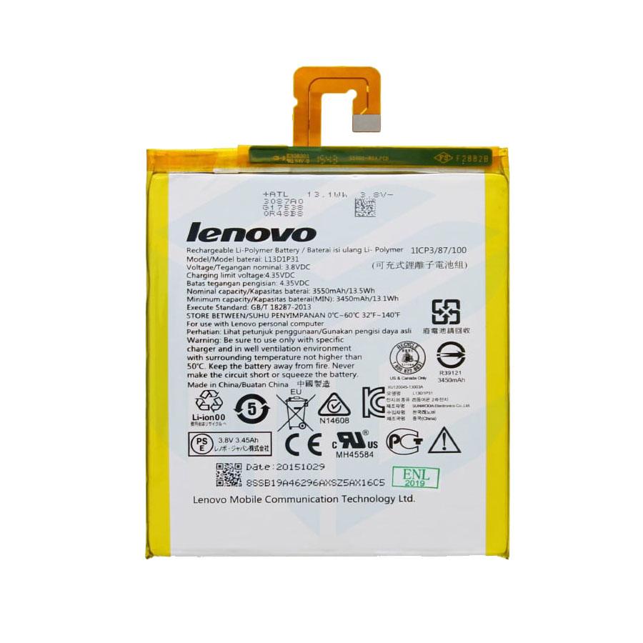 باتری تبلت مدل L13D1P31 با ظرفیت 3550 میلی آمپر مناسب برای تبلت لنوو Tab2 A7-30