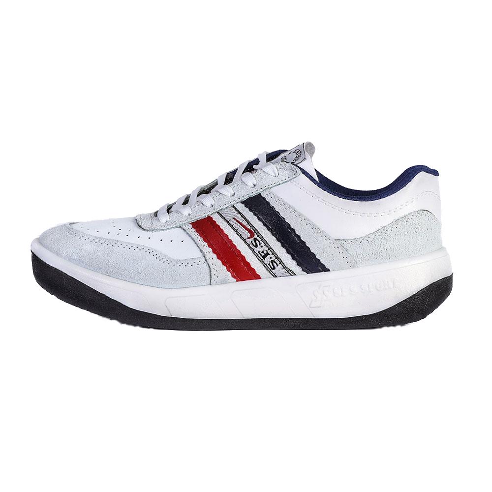 کفش پیاده روی مردانه مدل اس اف اس رنگ سفید