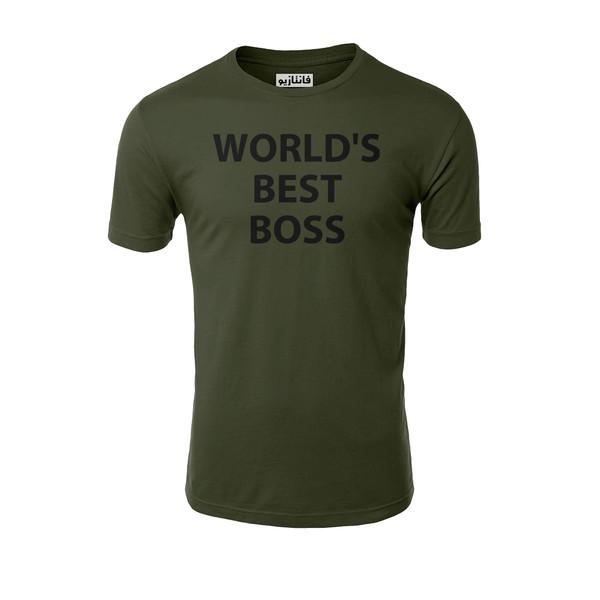 تیشرت آستین کوتاه مردانه فانتازیو مدل 241 طرح Best Best کد OF020