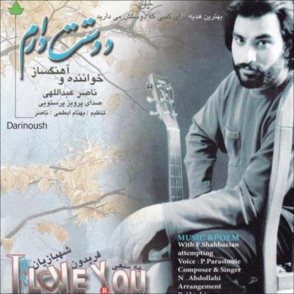 آلبوم موسیقی دوستت دارم اثر ناصر عبداللهی نشر دارینوش
