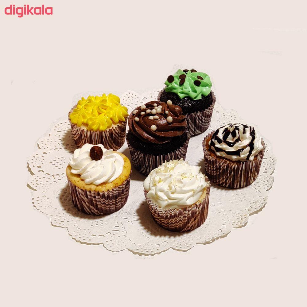 کاپ کیک بسته 6 عددی main 1 1