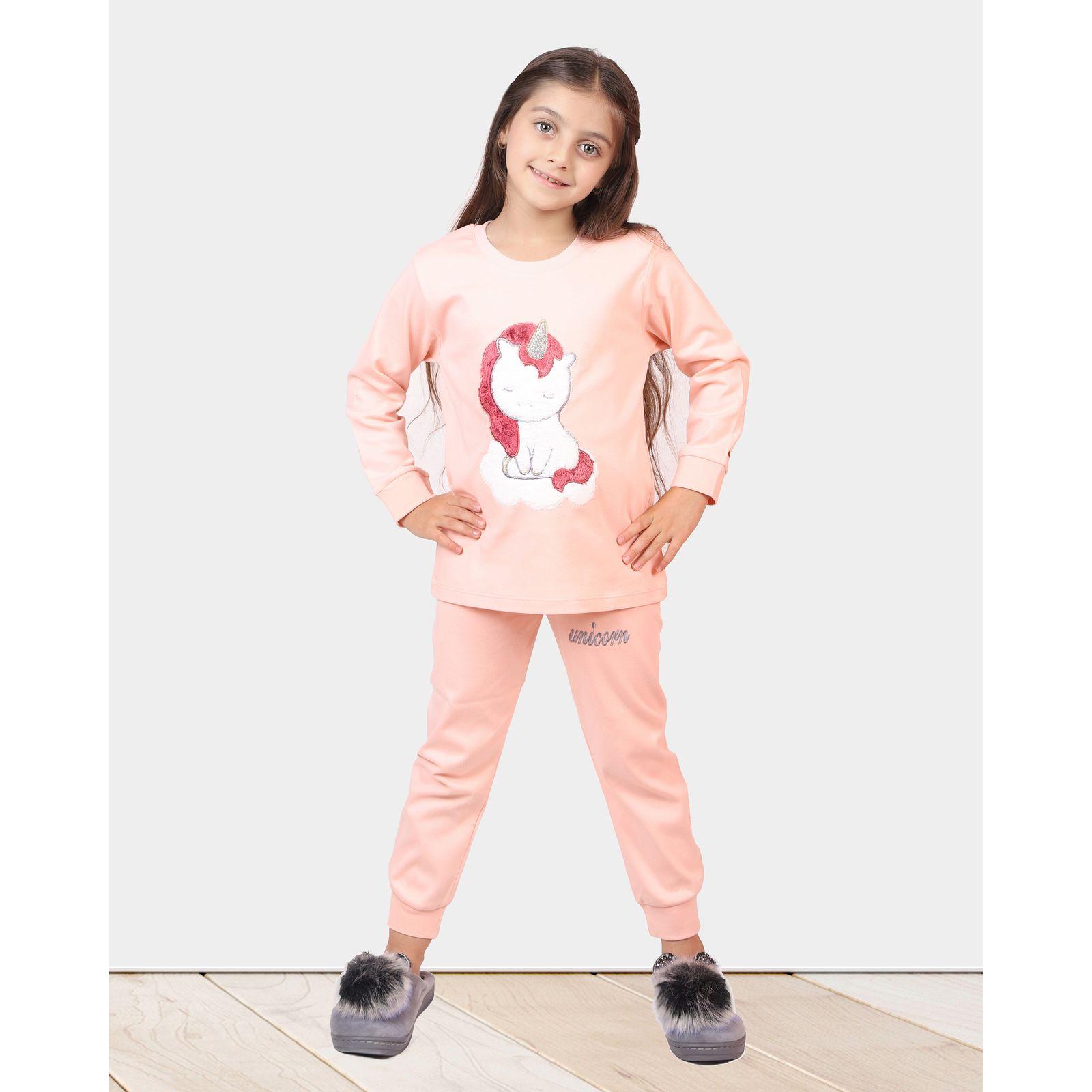 ست تی شرت و شلوار دخترانه مادر مدل 303-80 main 1 9