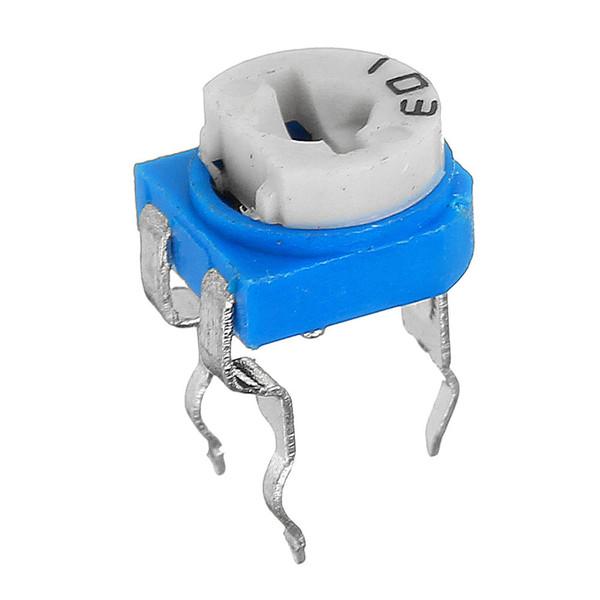 مقاومت پتانسیومتر 10 کیلو اهم کد P34 بسته 4 عددی