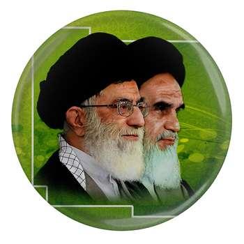 پیکسل طرح تصویر امام خمینی و رهبر حضرت خامنه ای مدل S2176