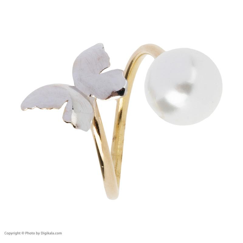 انگشتر طلا 18 عیار زنانه مایا ماهک مدل MR0389