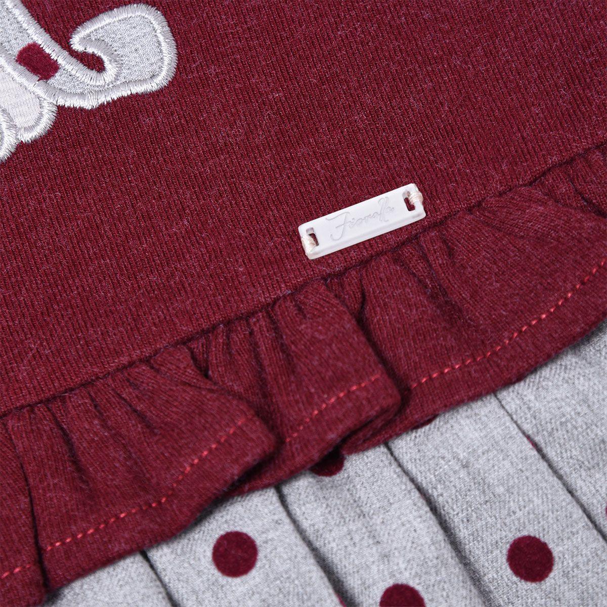 پیراهن دخترانه فیورلا مدل  خرس خالدار  کد 31515 -  - 4