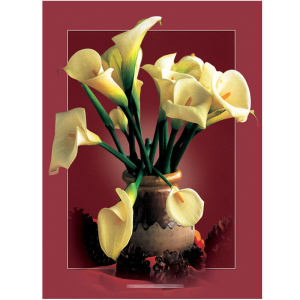 کارت پستال اهورا مدل گل نوروزی و مناسبتی کد:A-3808/1 بسته 100 عددی
