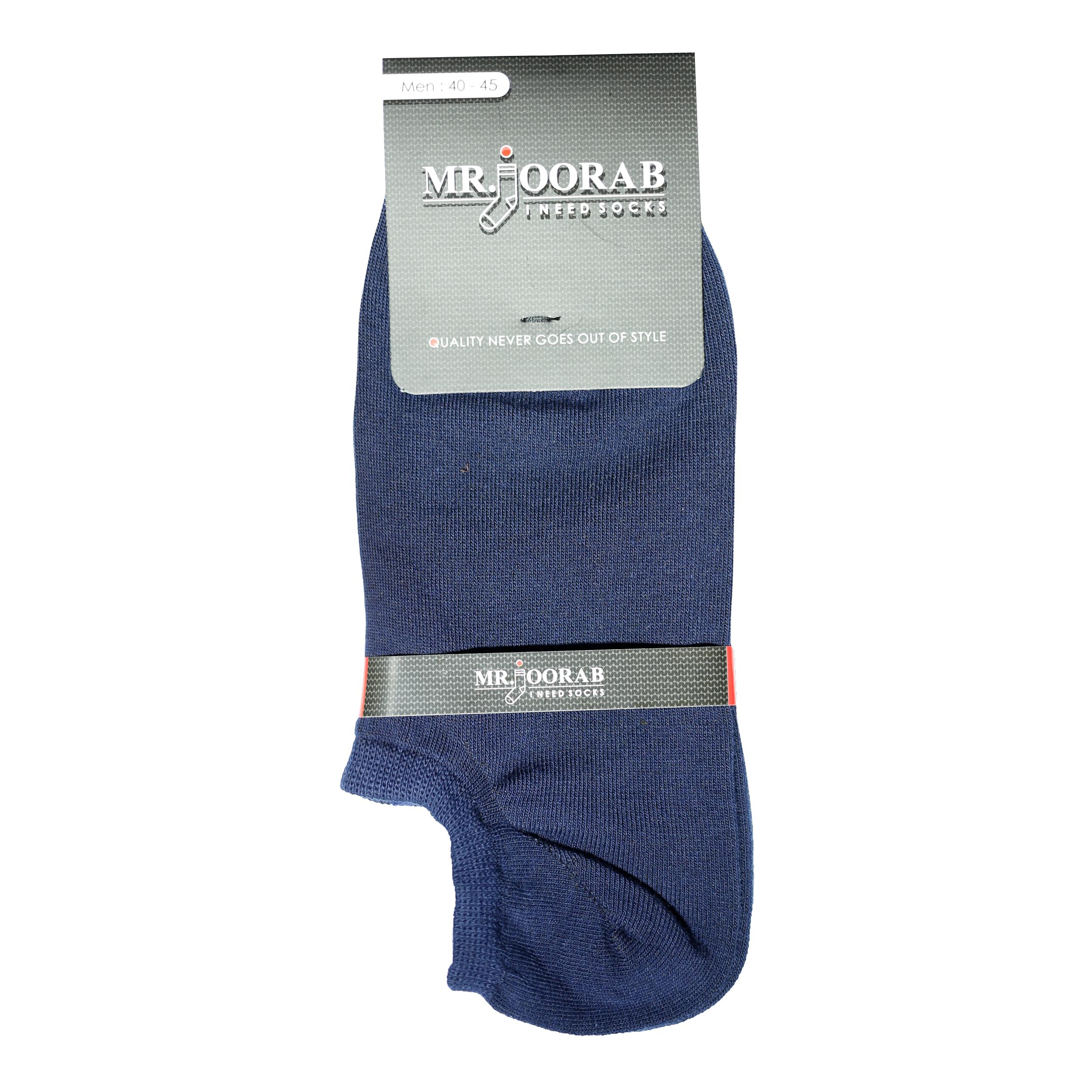 جوراب مردانه مستر جوراب کد BL-MRM 111 بسته 8 عددی -  - 3
