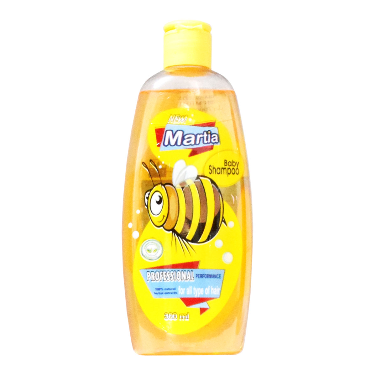 شامپو بچه مارتیا مدل زنبور حجم 300 میلی لیتر