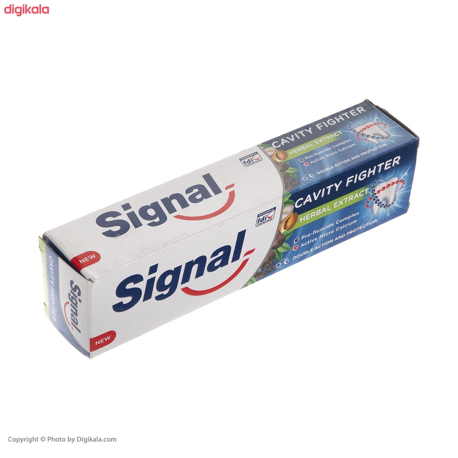 خمیر دندان سیگنال مدل Herbal حجم 100 میلی لیتر  main 1 1
