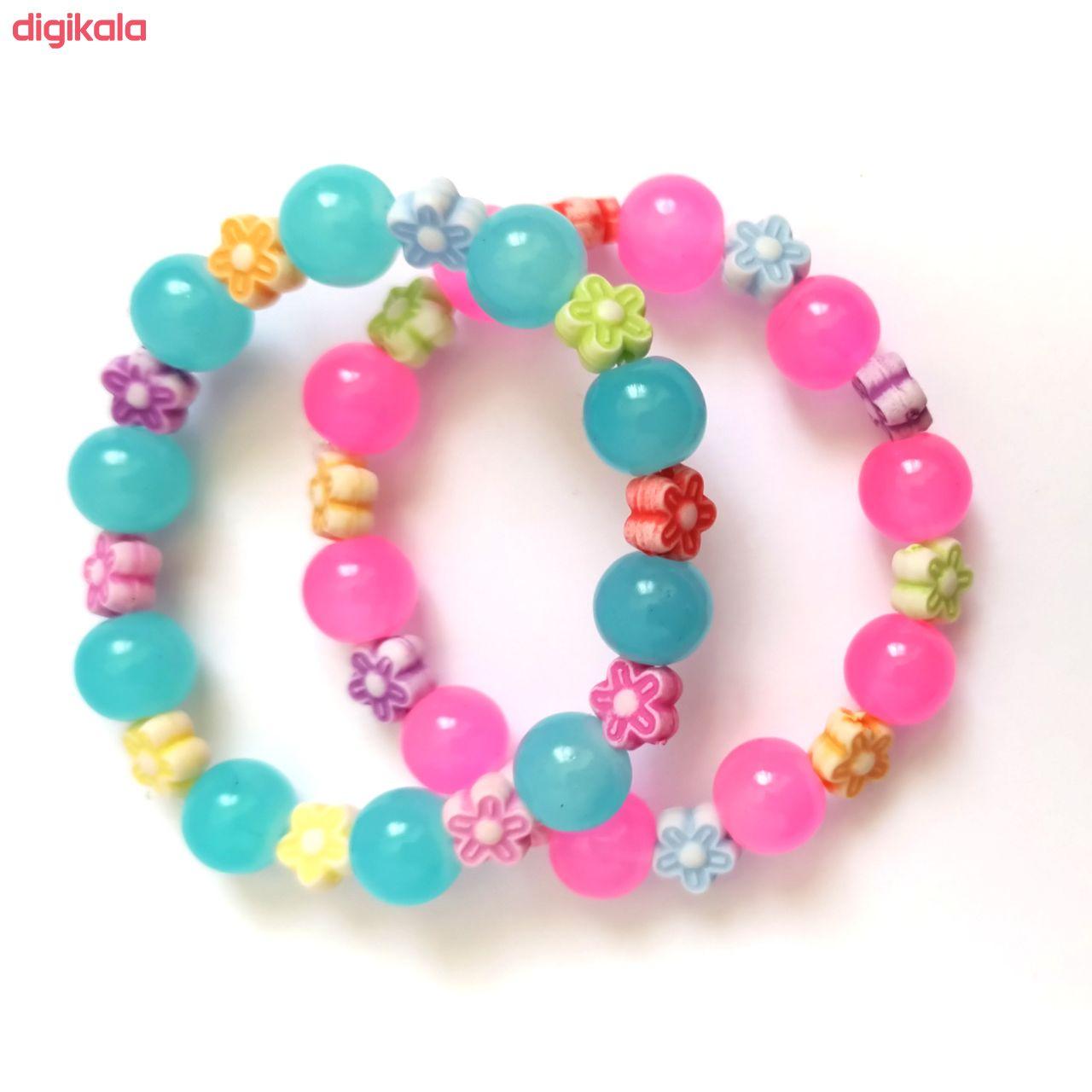دستبند دخترانه کد DB15 مجموعه 2 عددی main 1 3
