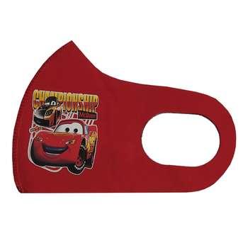 ماسک تزیینیصورت بچگانه طرح ماشین مک کوئین کد 30706 رنگ قرمز