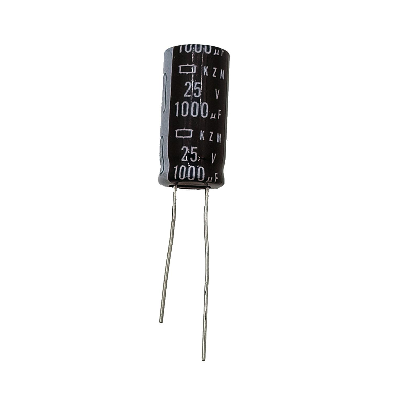 خازن 1000 میکروفاراد ۲۵ ولت مدل bkn1 بسته ۵ عددی