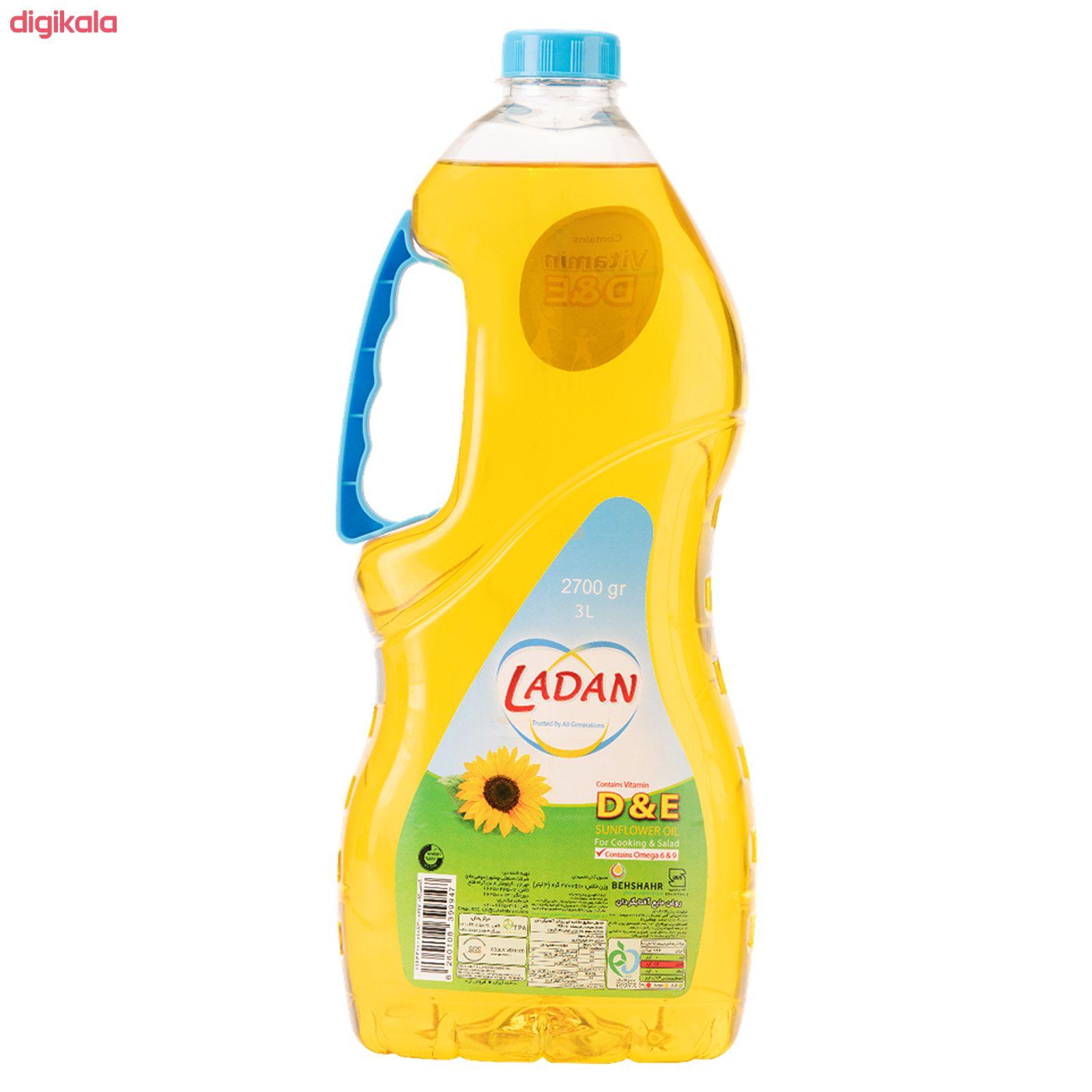 روغن مایع آفتابگردان حاوی ویتامین دی و ای لادن - 2.7  کیلوگرم main 1 4
