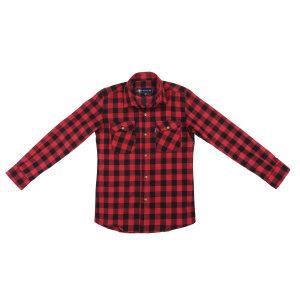 پیراهن پسرانه ناوالس کد D-20119-RDBK
