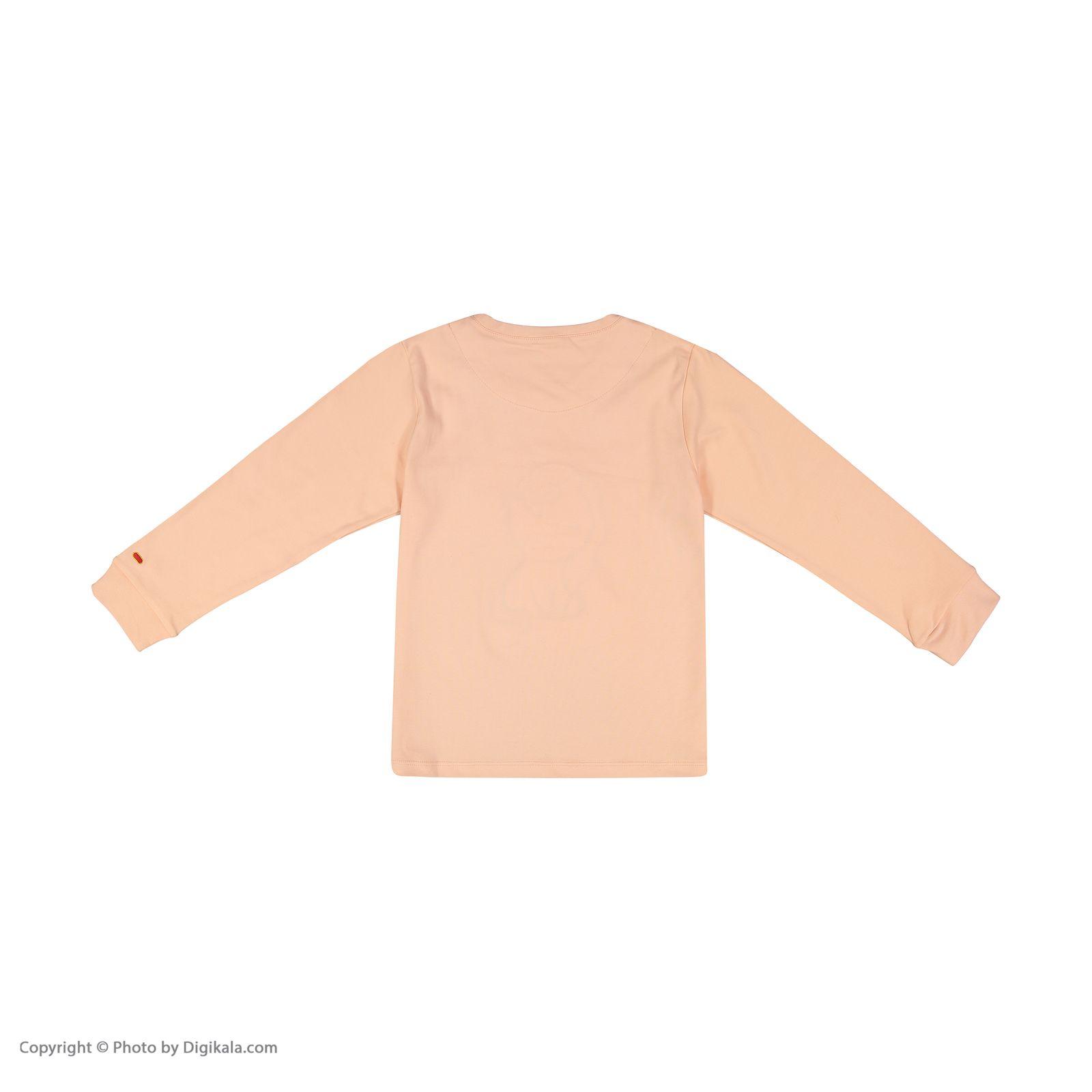 ست تی شرت و شلوار دخترانه مادر مدل 303-80 main 1 3