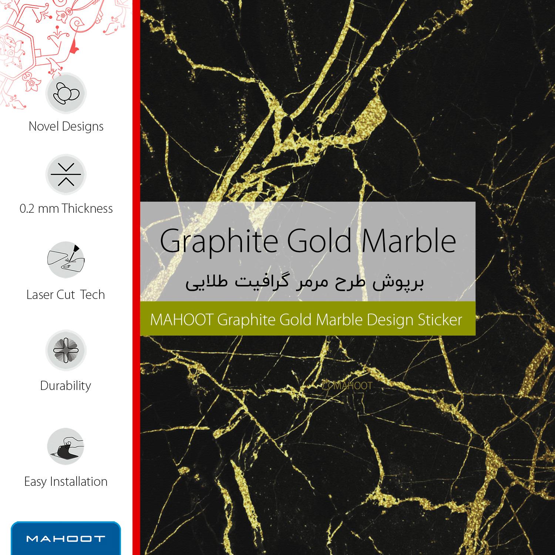 برچسب پوششی ماهوت مدل Graphite-Gold-Marble مناسب برای گوشی موبایل ال جی G4 thumb 2 2