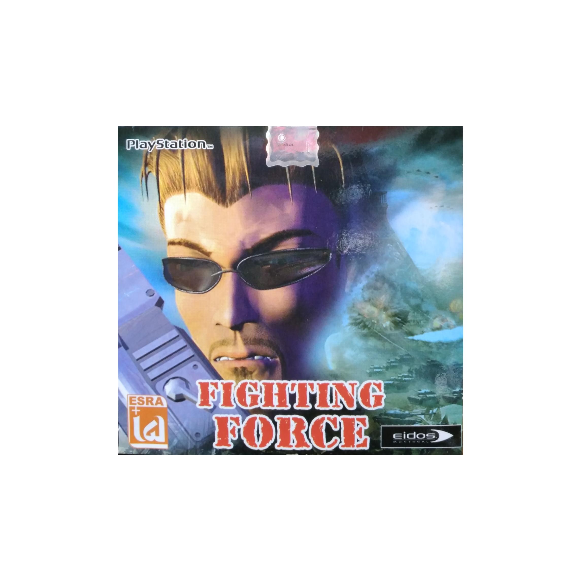 بازی FIGHTING FORCE مخصوص PS1