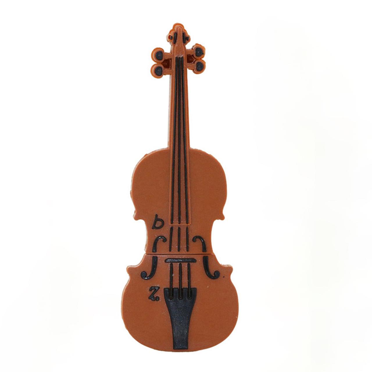 بررسی و {خرید با تخفیف} فلش مموری طرح ویولون مدل Ul-PVC-Violin03 ظرفیت 16 گیگابایت اصل