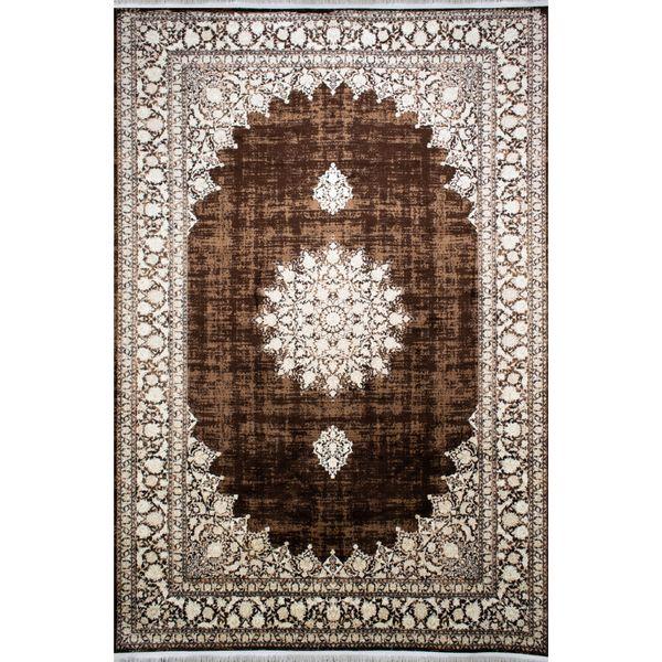 فرش ماشینی افرند طرح پتینه کد 4217