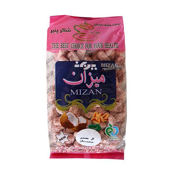 شکر پنیر گل محمدی میزان - 400 گرم