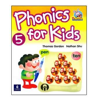 کتاب Phonics For Kids 5 اثر Thomas Gordon And Nathan Shu انتشارات الوندپویان