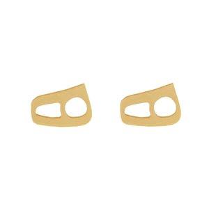 گوشواره طلا 18 عیار دخترانه رزالیا مدل Diamond-GEA-010