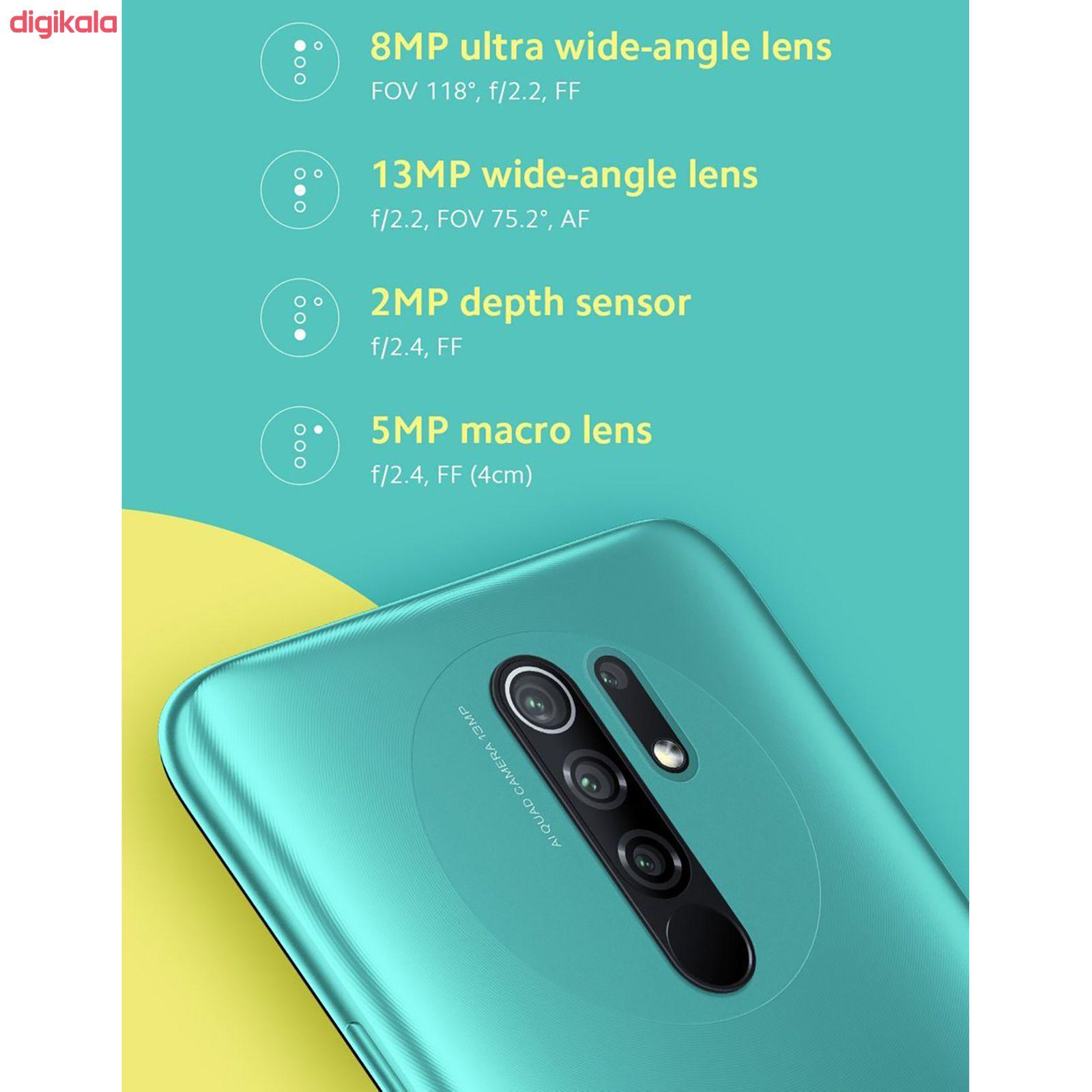 گوشی موبایل شیائومی مدل Redmi 9 M2004J19G دو سیم کارت ظرفیت 64 گیگابایت main 1 14