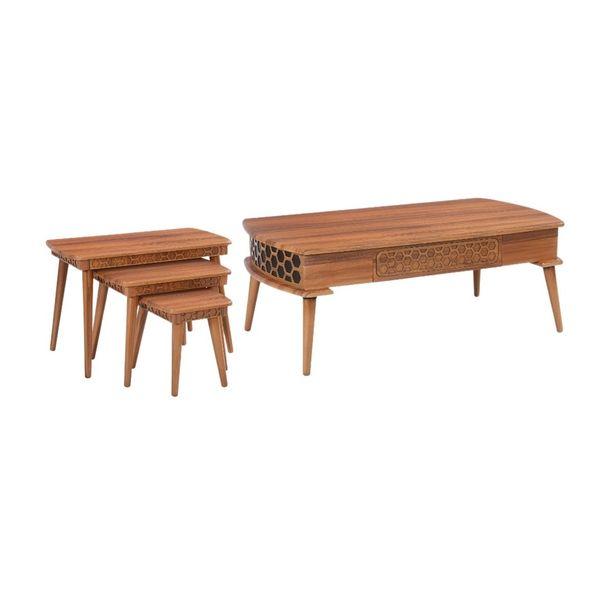 میز پذیرایی مدل 594 مجموعه 4 عددی