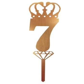 شمع تولد طرح عدد 7